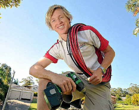 Apprentice sparkies eager for job start - The Queensland Times | carpentry | Scoop.it