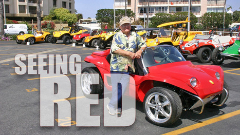 New Red is the Meyers Manx Electric Dune Buggy You Can Buy (w/ Video) | Heron | Scoop.it