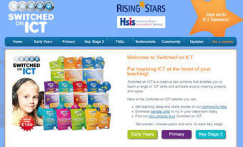 Switched on ICT : Rising Stars - Educational Publishing Specialists | Enrichment Resources | Scoop.it