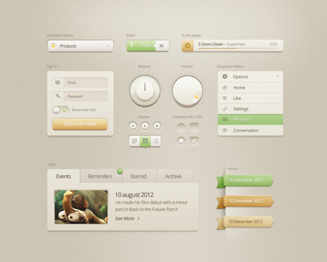 10 Free Must Have UI Kits for Your Next Design Project   UX & Webdesign   Scoop.it