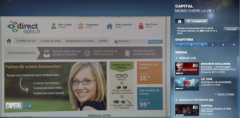 Direct Optic sur M6 dans Capital à propos de la vente de lunettes en ligne | Opticiens en ligne français actualités | Scoop.it