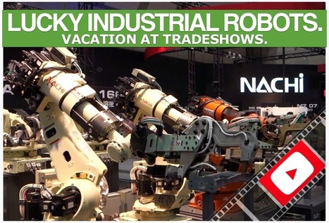 Japanese Robots: Industrial Robotics Sampler from iREX 2013 (VIDEO) | AI, NBI, Robotics & Cybernetics & Android Stuff | Scoop.it
