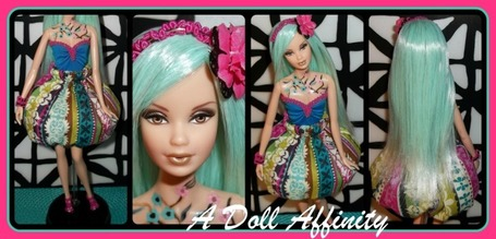 My recently completed OOAK Steffie | Fashion Dolls | Scoop.it