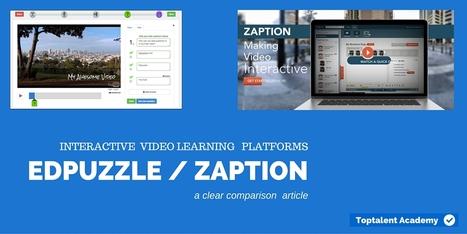 EDpuzzle vs. Zaption. Een duidelijke vergelijking | E-leren | Scoop.it