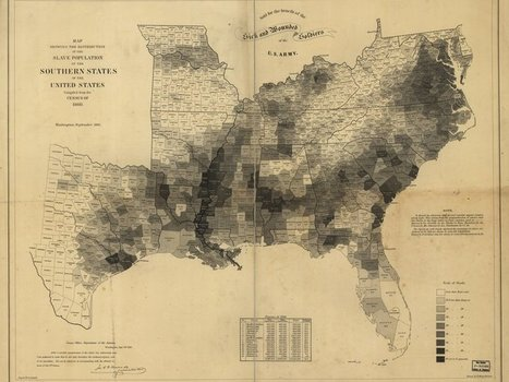 These Maps Reveal How Slavery Expanded Across the United States | World History | Scoop.it