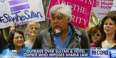 Jay Leno Takes a Public Stand Against Sharia Law [PICTURES] | Restore America | Scoop.it