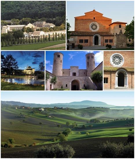 Itinerario in bicicletta nelle Marche | Le Abbazie Medievali nel Cuore delle Marche | Le Marche - discover this magical part of Italy! | Scoop.it