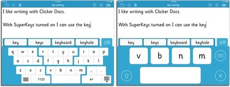 SuperKeys Accessible Keyboard | The Spectronics Blog | iPads in Special Education | Scoop.it