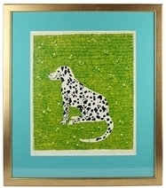 'Spotty in the Grass' Dalmatian Print by Penny Melini | Our Stock | Scoop.it