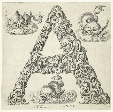 An Alphabet of Organic Type (ca.1650) | Diseño y tipografía | Scoop.it
