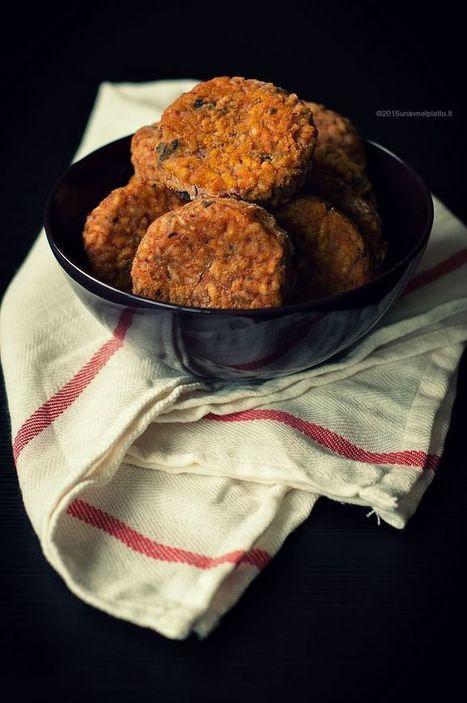 Crocchette di riso al pomodoro e funghi - Una V nel piatto - Ricette Vegane e Mondo Vegan   Una V nel Piatto   Scoop.it