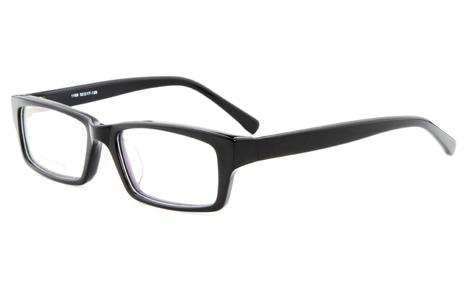 Black 1189 Full Rim Rectangle,Square Glasse | anninobi | Scoop.it