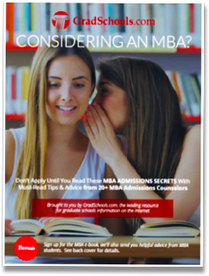 MBA Admissions Secrets Free e-Book to Earn your MBA Degree via @AllGradSchools | adult education degrees courses online | Scoop.it