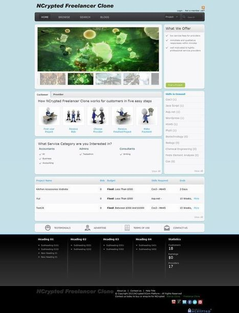 Freelancer Clone | Freelancer Clone | Freelancer Clone Script | Freelance Marketplace Clone - NCrypted | Scoop.it