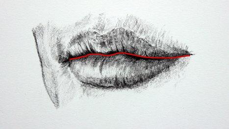 come disegnare le labbra | Circolo d'Arti | Scoop.it