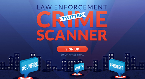 Can Twitter really help cops find crime? | bicos | Scoop.it