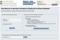 GénéInfos: Ouverture de la salle des inventaires virtuelle des Archives nationales | GenealoNet | Scoop.it