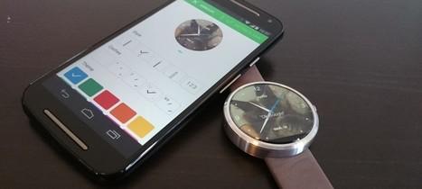 Personnaliser un cadran Android Wear avec Motorola Connect | Hightech, domotique, robotique et objets connectés sur le Net | Scoop.it