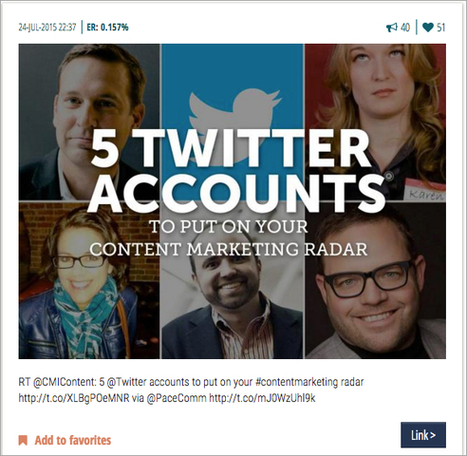 How 7 Top Influencers Share Great Content on Twitter | The Perfect Storm Team | Scoop.it