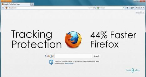 Mozilla: Firefox Tracking Protection Speeds Up Web Pages by 44% | Geek 2015 | Scoop.it