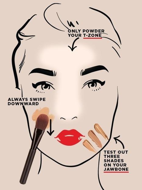 8 Fondation Hacks Que Vous Devez Savoir   Maquillage   Scoop.it