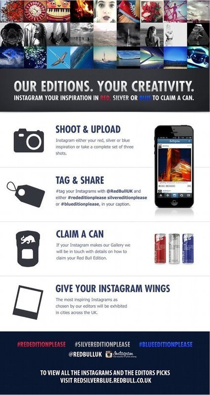 Red Bull s'affiche avec Instagram | we are soci... | Beconnected | Scoop.it