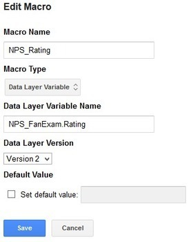 Net Promoter Score in Google Tag Manager   FanExam Blog   Google Tag Manager   Scoop.it