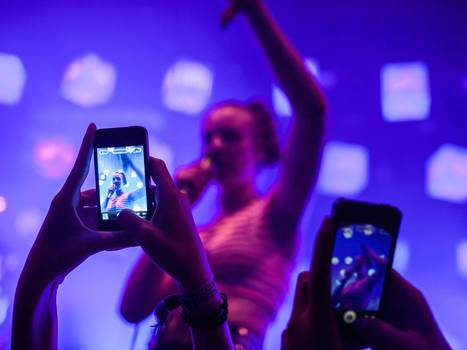 Geek mythology: Smartphones held aloft at gigs don't herald a new era of ... - The Independent | CLOVER ENTERPRISES ''THE ENTERTAINMENT OF CHOICE'' | Scoop.it
