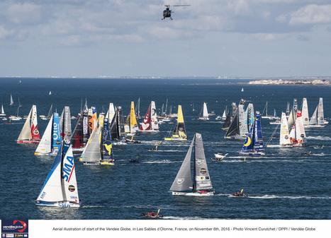 Le Vendée Globe 2016 bat des records notamment sur le Digital - SportBuzzBusiness.fr   Médias, numériques, infographies, audio, techno...   Scoop.it
