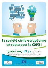 La Société Civile Européenne en route pour la COP21 | Mediapeps | Scoop.it