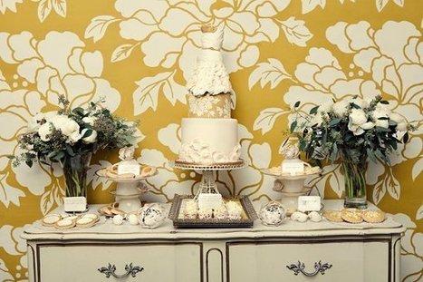 Ivory Multi Shape Vintage style   CLASSIC MULTISHAPE WEDDING CAKES   Scoop.it