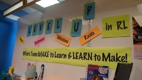 Level UP: inside Chicago's mall-based teen makerspace - Engadget | Tinkering and Innovating in Education | Scoop.it