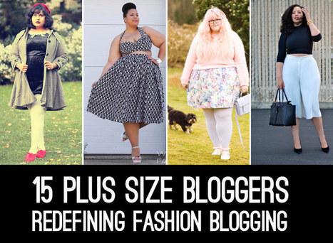 15 Plus Size Bloggers Redefining Fashion Blogging   IFB   fashion blogger   Scoop.it