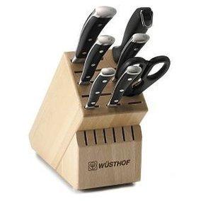 &&&   Wusthof Trident Classic Ikon Block Knife Set — Frontgate Wüsthof | wusthof knife set | Scoop.it