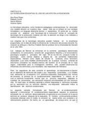 LA TECNOLOGIA EDUCATIVA | PRACTICA | Scoop.it