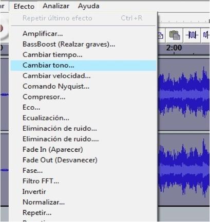 Cómo cambiar el tono y el tempo de una canción con Audacity [Tutorial]   Recursos para Podcast y Rss   Scoop.it