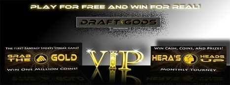 Draft Gods | FREE Daily Fantasy Sports for Cash and Prizes | Draft Gods | Scoop.it