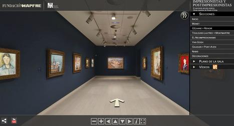 Visita virtual 'Impresionistas y postimpresionistas. Obras maestras del Musée d'Orsay' | Ele &Fle Twitts | Scoop.it