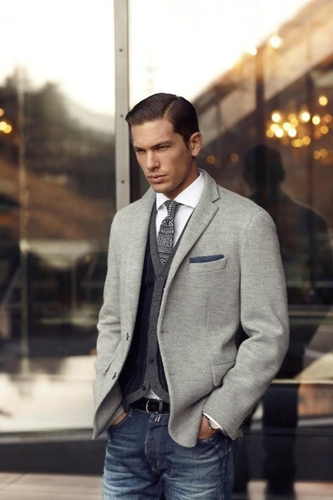 Tombolini: Eight tips to being the best-dressed man around | Le Marche & Fashion | Scoop.it