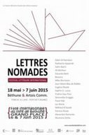 Lettres Nomades - Festival littéraire international du 18 mai au 7 juin | BIB on WEB | Scoop.it