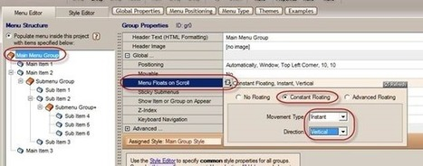 AWM: How to set a menu scroll along with the content on Sharepoint? | Adobe Muse | Scoop.it