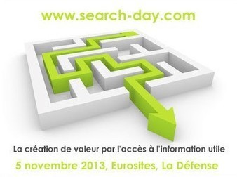 Jalios présent à la conférence Search, le 5 novembre 2013   Test Drome   Scoop.it