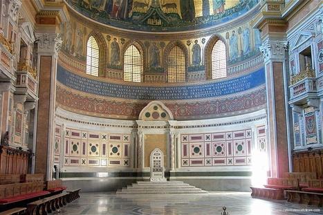 Basilica che racchiude la cattedra papale | Desde las Catacumbas hasta las Catedrales Medievales | Scoop.it