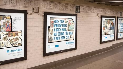 La dure loi du marché immobilier new-yorkais illustrée dans le métro | Immobilier | Scoop.it