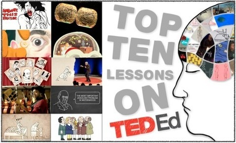 TED-Ed Blog» Blog Archive Top 10 most popular TED-Ed lessons! « | marked for sharing | Scoop.it