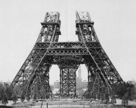 La Tour Eiffel construite en 4 mois grâce à l'impression 3D | L'Etablisienne, un atelier pour créer, fabriquer, rénover, personnaliser... | Scoop.it