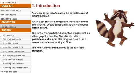 Teach ICT - GCSE ICT - animation methods | talkPrimaryAnimation | Scoop.it