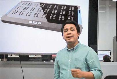 Mexicanos crean aparato que  traduce texto digital a braille | Productos de consumo | Scoop.it