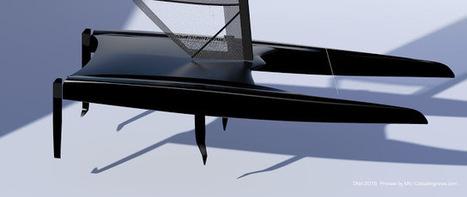 Catamaran Racing, News & Design: DNA 2016 Platform Preview: CFD Simulation & platform Aero mods   FLYING MULTIHULLS   Scoop.it