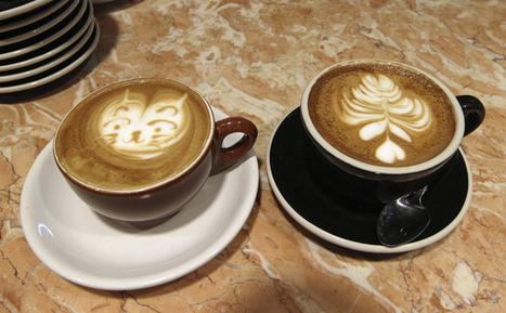 Crafty baristas please customers with arty lattes | @FoodMeditations Time | Scoop.it